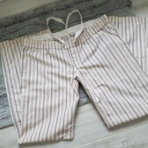 JCrew Striped Pajama Pant